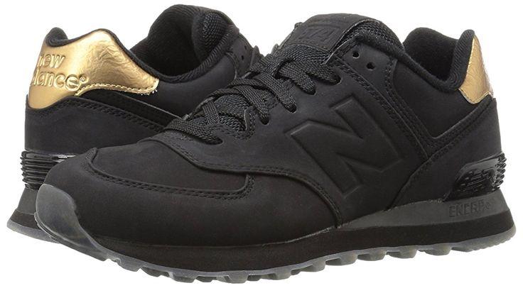 New Balance 574, Sneakers Basses Femme, Noir (Black), 40 EU