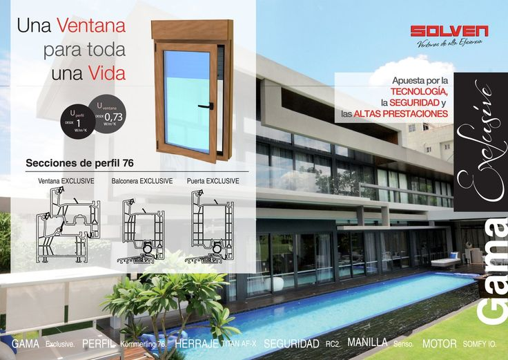 ventana, kömmerling, ventana de pvc, solven, ventana con estilo