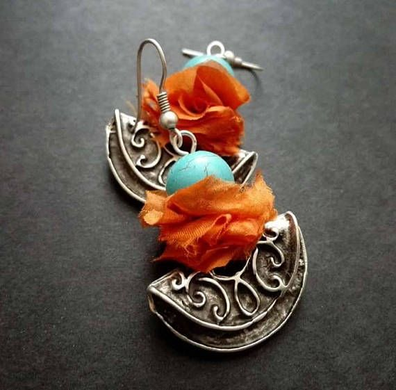 Hey, I found this really awesome Etsy listing at https://www.etsy.com/listing/574942823/boho-earrings-turquoise-earrings-tribal