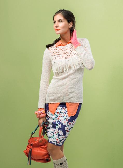 SYBILLA Sweater! Colores, colores y prints!