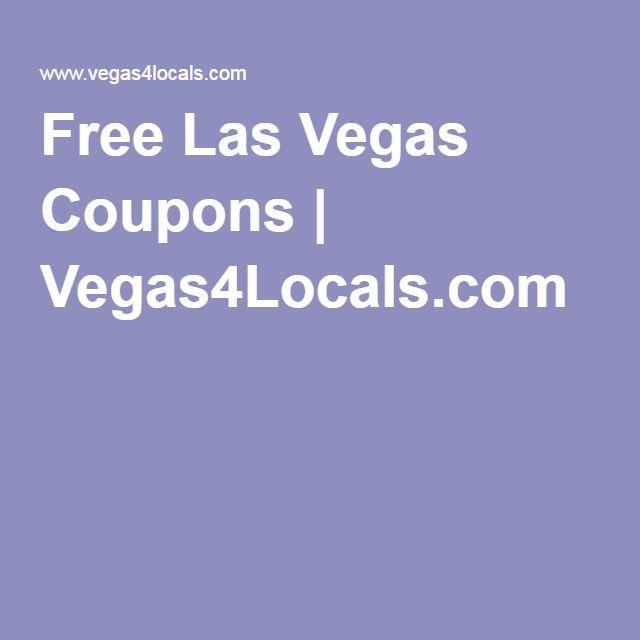 Free Las Vegas Coupons   Vegas4Locals.com