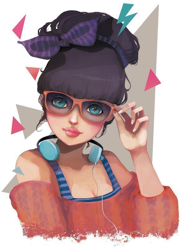 cute girl by http://beyondthechuch.canalblog.com/