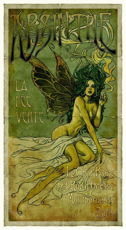 Art Nouveau poster_ linha preta delimitadora _textos e tipografias passam a poder ser alterados