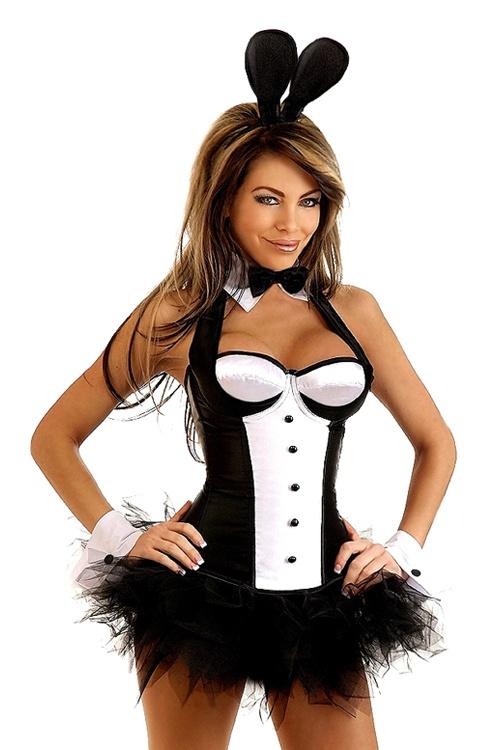 sexy tuxedo bunny costume - Halloween Costume Playboy Bunny