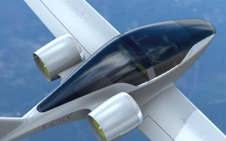 Airbus Group - E-Fan electric aircraft