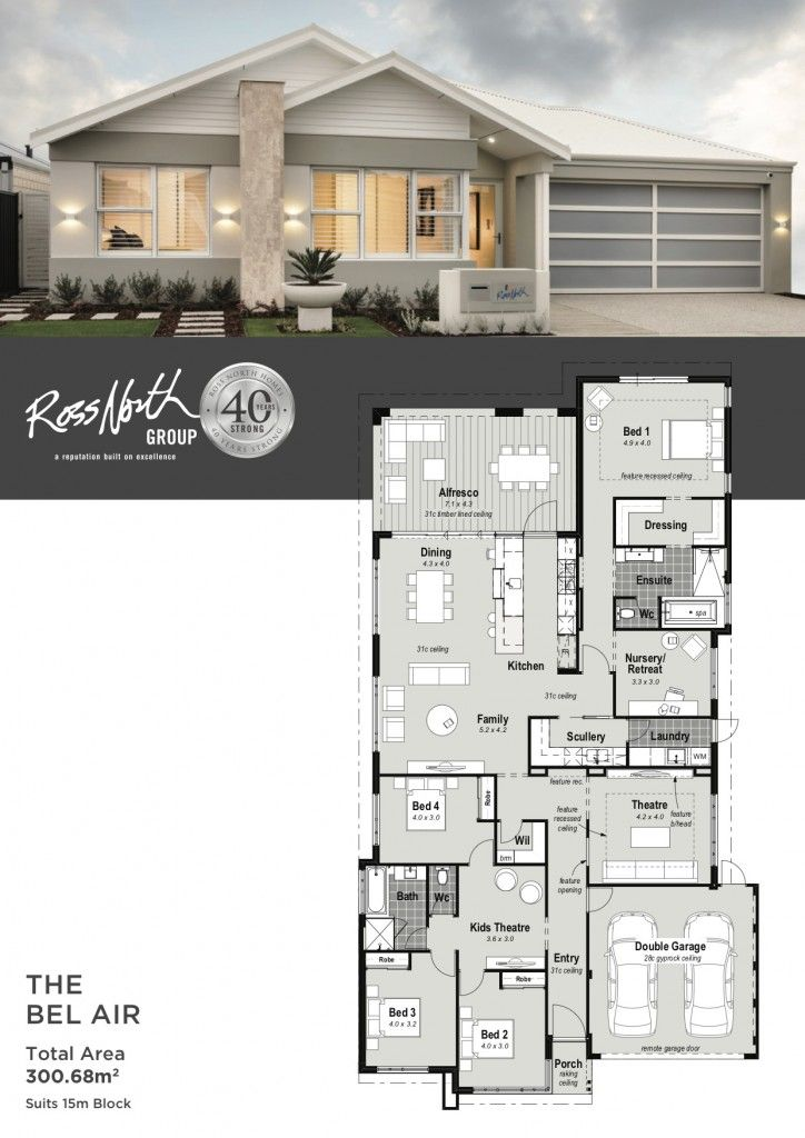 The Bel Air Ross North Homes House Plans For Sale Contemporary House Plans Modern Contemporary House Plans