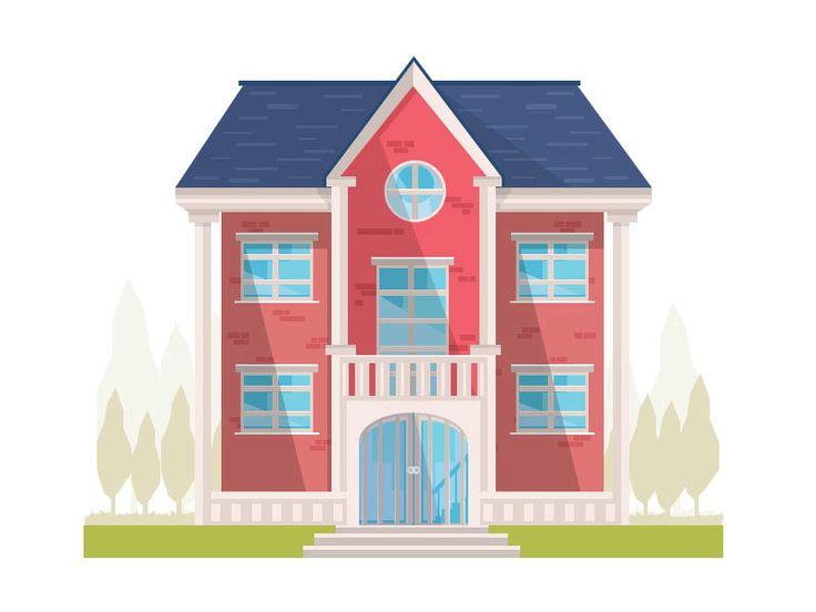 Best 25+ House vector ideas on Pinterest | House illustration ...