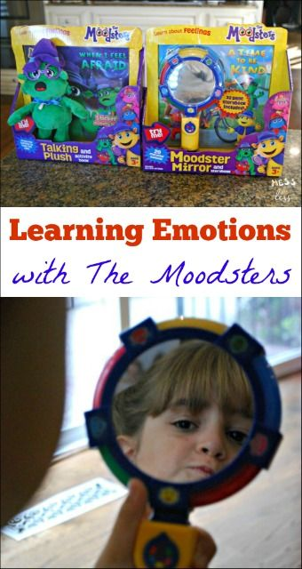 Kids can struggle with big emotions. This is an easy and fun way to teach kids about their emotions. #ad #TheMoodsters @themoodsters