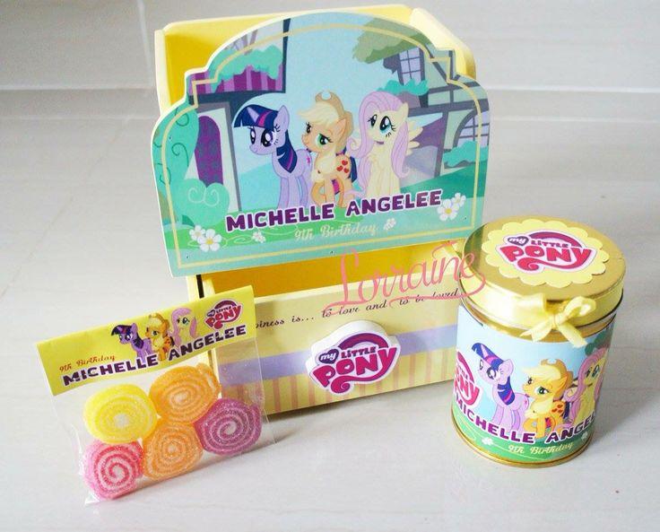 Little pony wooden souvenir