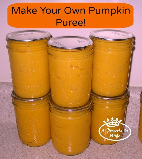 How to easily make your own pumpkin puree. Great way to put those pumpkins to use!