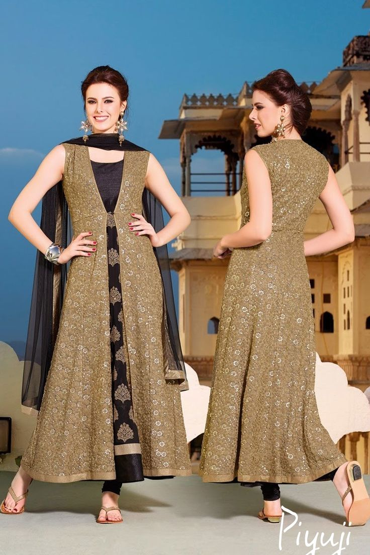 celebrity gown style full length salwar suit
