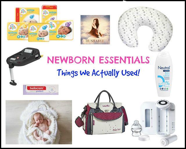 Entertaining Elliot: Newborn Essentials - Things We Actually Used!