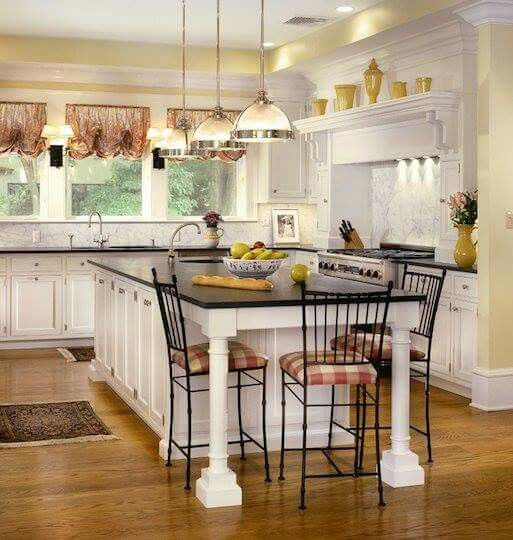 Country Kitchen White Cabinets: 2028 Best White Country Kitchens Images On Pinterest