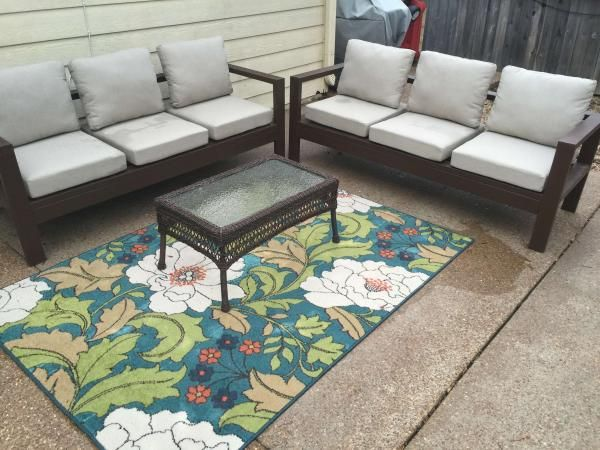 outdoor sectional do it yourself home projects from ana white outdoor furniture tutorials. Black Bedroom Furniture Sets. Home Design Ideas