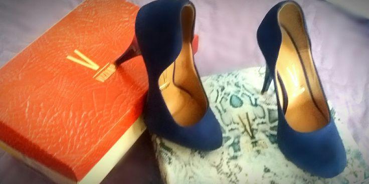 Salto Vizzano, azul royal 😍