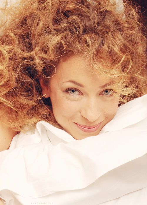 Alex Kingston - Excuse me no one gave you permission to be that adorable