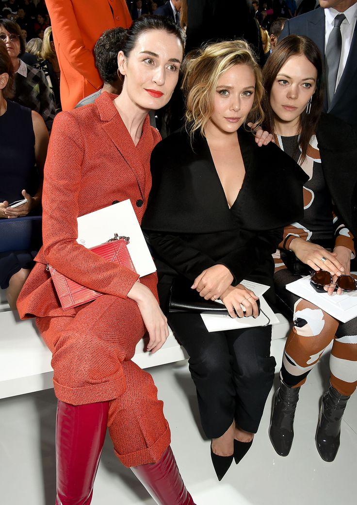 Erin O'Connor, Elizabeth Olsen, and Kinga Rajzak