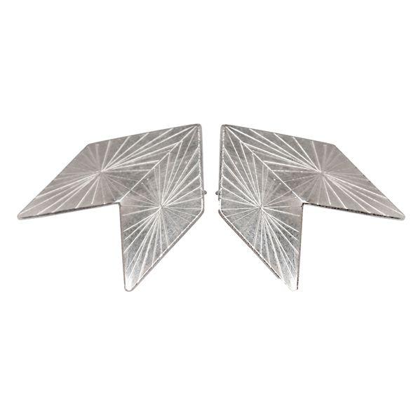 Qvist Jewellery | Urban Desert Earrings – Silver | €107 | ENIITO