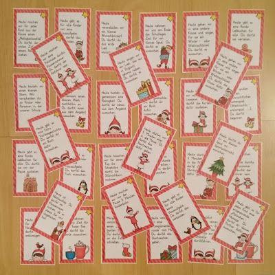 Weihnachtsbasteln Grundschule Ideen.Ideenreise Aktionsgutscheine Für Den Adventskalender Deutsch