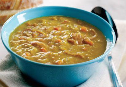 Soupe aux pois et au jambon | .coupdepouce.com