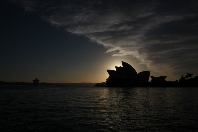 Sunrise at Circular Quay by Frogé, via Flickr