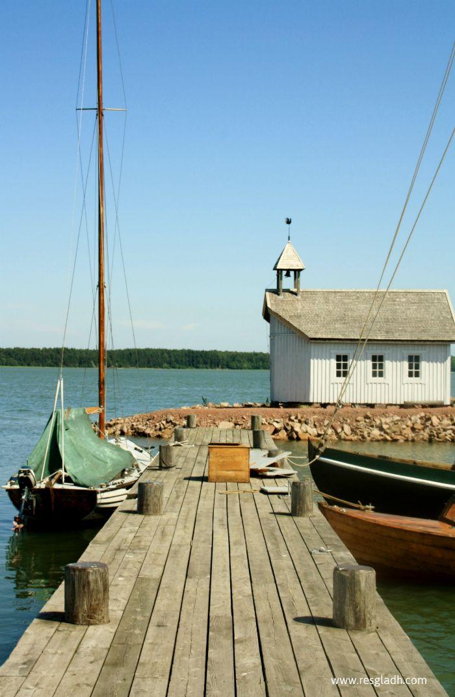 A jetty in Mariehamn