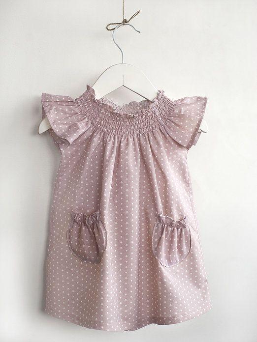 Vestido bebé de Teresa y Leticia