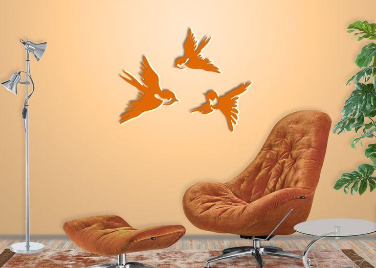 Die besten 25+ Vogel Wandtattoo Ideen auf Pinterest Wallart