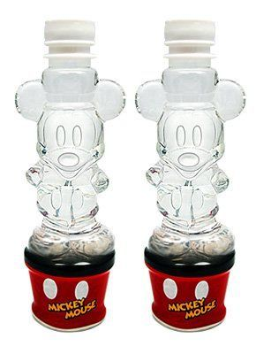 Mock Disney character Mickey Mouse bottled water 220ml × 2 this Mickey Mouse
