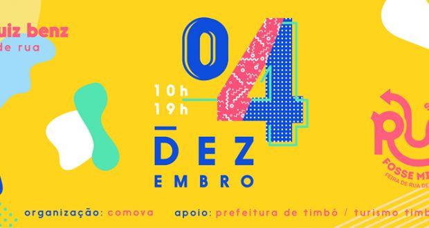 Coletivo CoMoVa – Inscrições para a 3ª edição da Feira Se Essa Rua Fosse Minha iniciam neste sábado | Portal Timbó Net