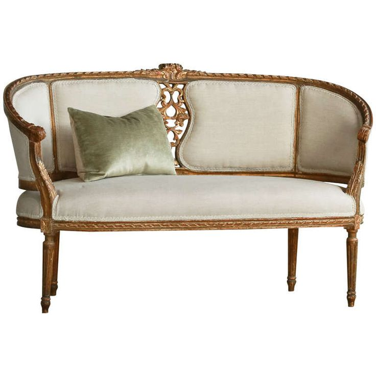 186 best settee 39 s chaises images on pinterest chairs - Chaise style louis xvi moderne ...