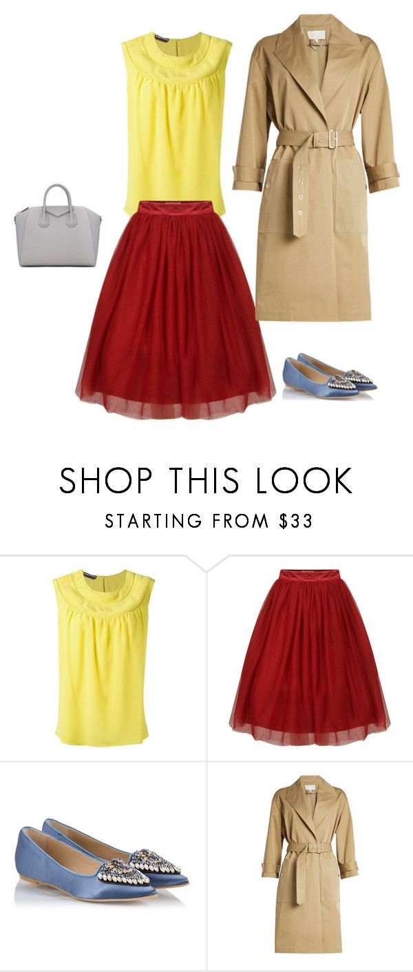 1 by asvetik on Polyvore featuring мода, Rochas, Vanessa Bruno, RAS and Givenchy