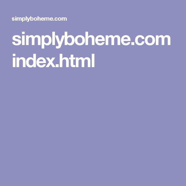 simplyboheme.com index.html
