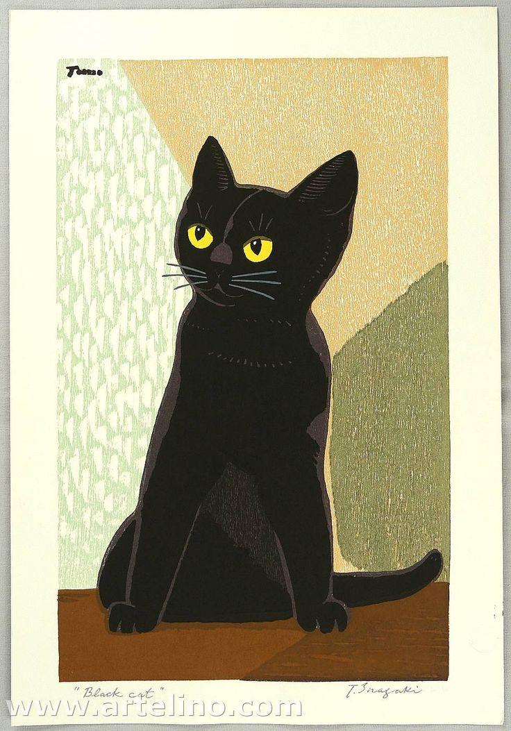 Inagaki Tomoo: Black Cat - Artelino