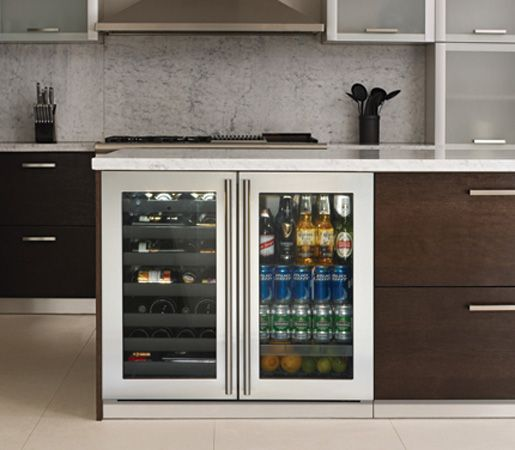 u line 3036bvwc 36 modular beverage center wine captain. Black Bedroom Furniture Sets. Home Design Ideas