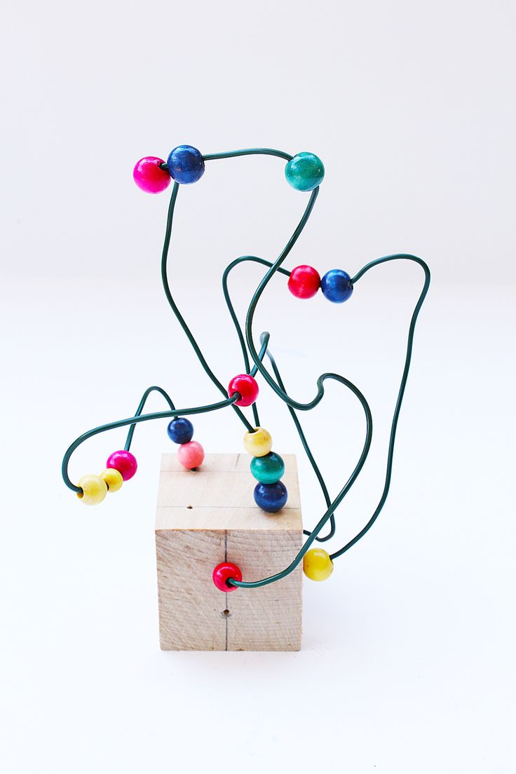Make simple little wire sculptures using 3 easy to find items. Great project for kids and adults!