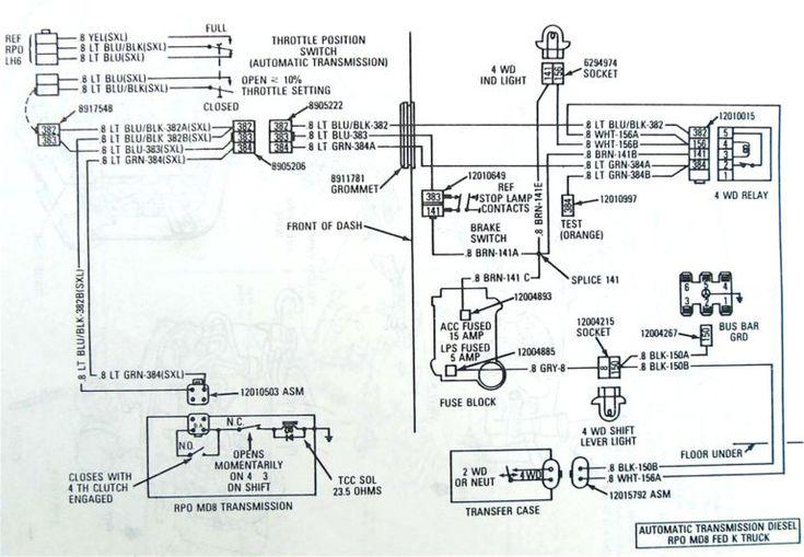 4l60e External Wiring Harness Pin Diagram 4