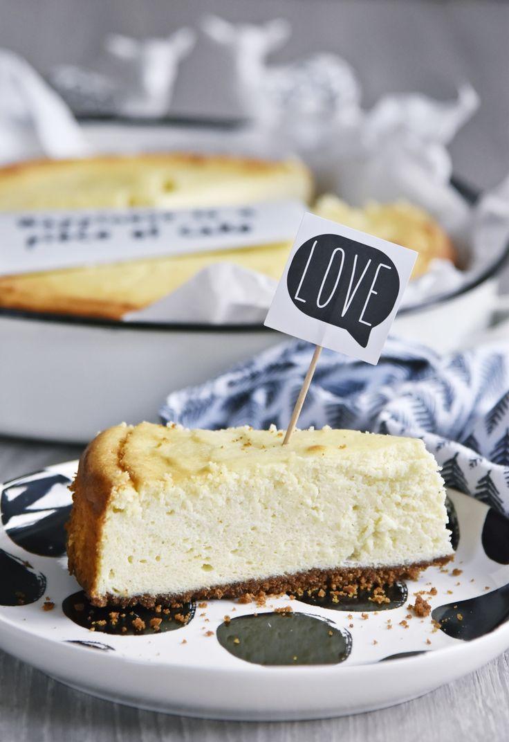 Mein leckeres Käsekuchen Rezept zum Backen mit oder ohne Boden - American Cheesecake vs. deutscher Käsekuchen | luzapimpinella.com