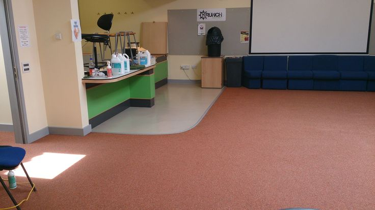 A Community Centre near Bristol. Carpet brought back to life and all stains removed