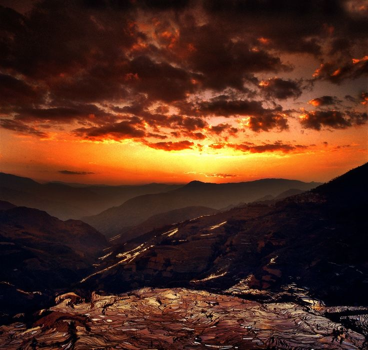 Потрясающие пейзажи Китая от фотографа Thierry Bornier. Обсуждение на LiveInternet - Российский Сервис Онлайн-Дневников