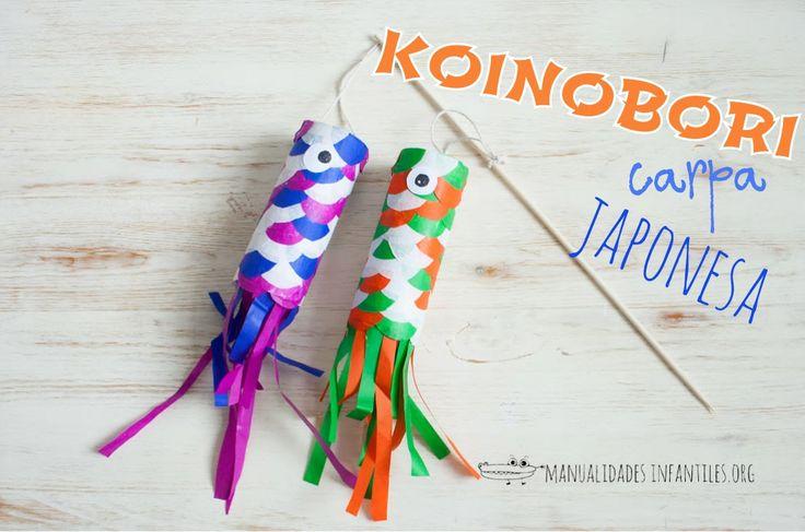 Los koinobori son unas cometas japonesas tradicionales en forma de carpa, que se cuelgan en las casas para celebrar una especie de Día del niño japonés. A nosotros nos han gustado mucho porque son muy coloridos, así que hemos hecho...