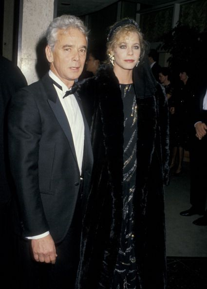 Susan Dey and her current husband Bernard Sofronski