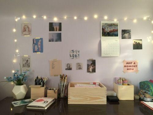 Die besten 25+ Teenager Zimmer Dekor Ideen auf Pinterest - schreibtisch im schlafzimmer