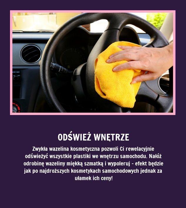 Odśwież wnętrze samochodu - Zobacz jak!!!