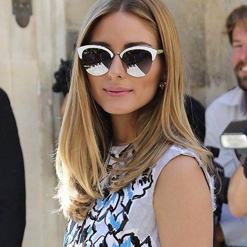 Olivia Palermo simplesmente linda com o novo #Diorrun