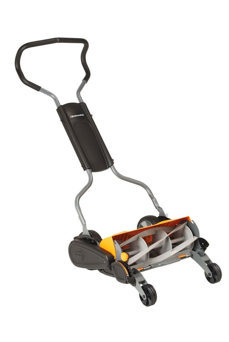 Reel Mower: Fiskars® Reel Lawn Mower | Gardeners.com