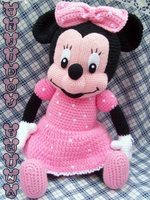 Minnie Mouse Amigurumi Free Pattern Beautiful Skills Crochet