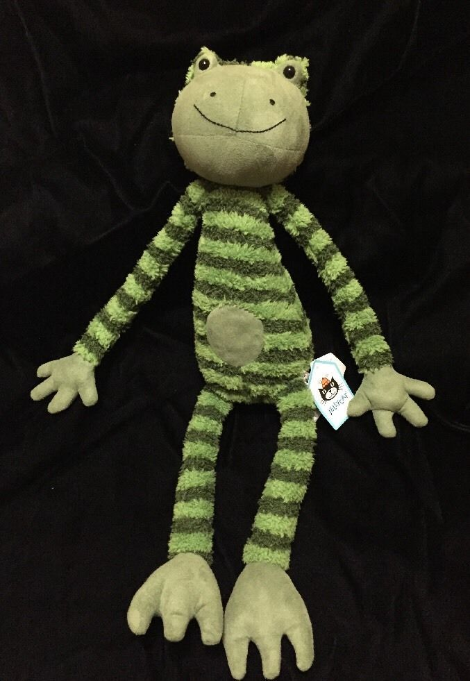 Jellycat Frederick Frog Plush Stuffed Animal Green Floppy ...