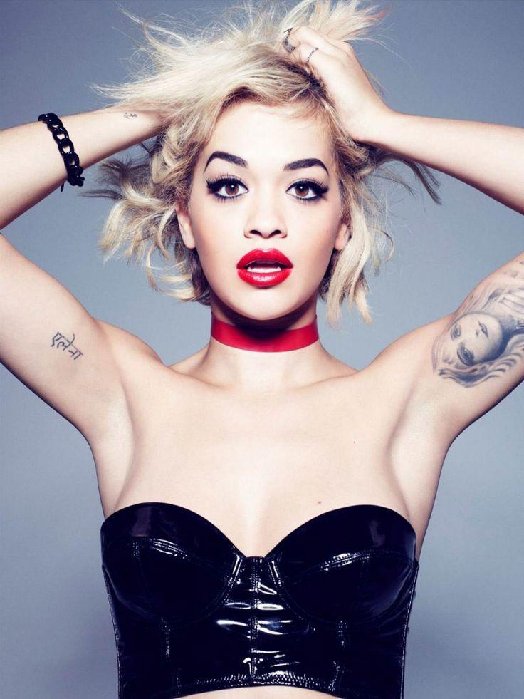 Rita Ora Works with Rimmel London on Cosmetics Line