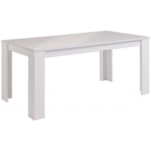 Table Blanche En Bois